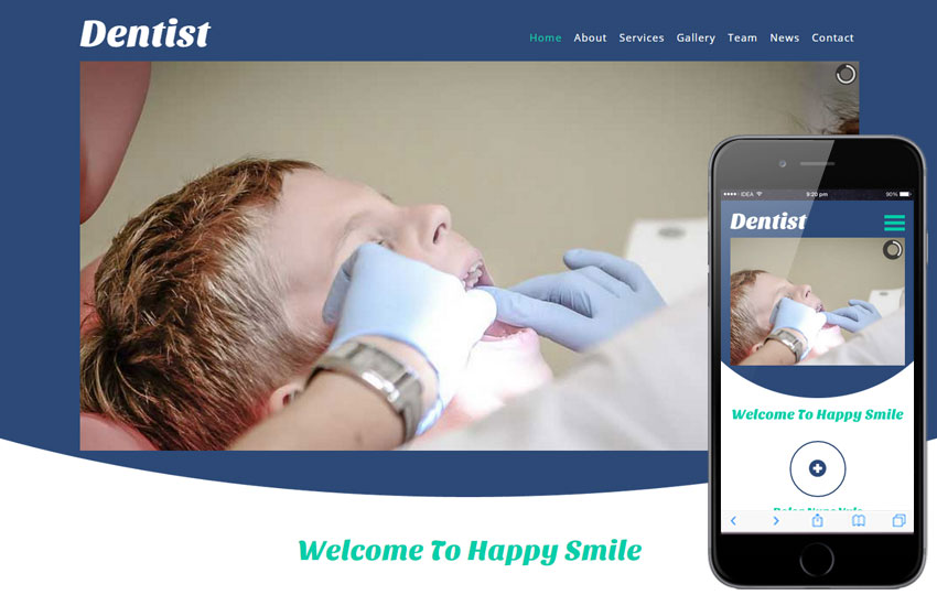 Dentist a Medical Category Flat Bootstrap Responsive Web Template