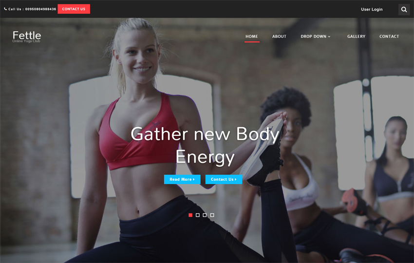 Fettle Sports Category Bootstrap Responsive Web Template