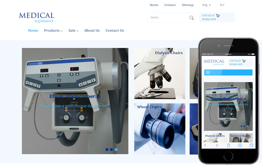 Medical Equipment a Medical Category Flat Bootstrap Responsive Web Template
