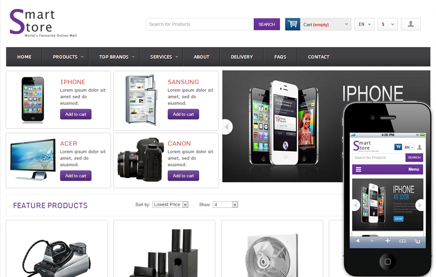 E shopping website template 15 best ecommerce online shopping.