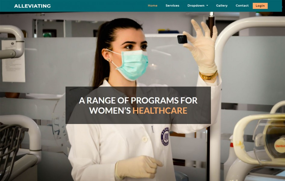 Alleviating Medical Category Bootstrap Responsive Web Template