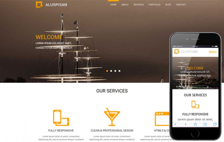 Aluspisan a Corporate Multi Purpose Flat Bootstrap Responsive Web Template