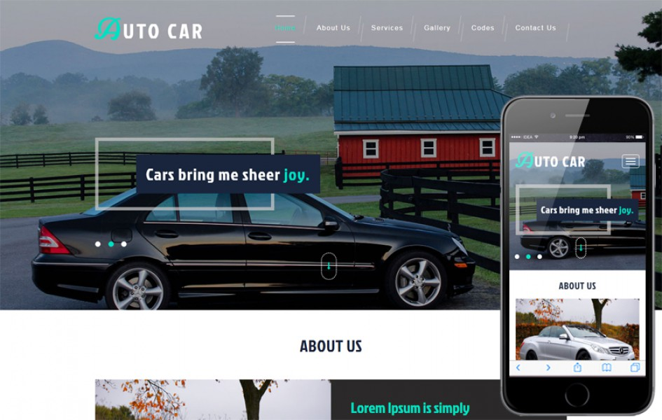 Auto Car an Automobile Category Bootstrap Responsive Web Template