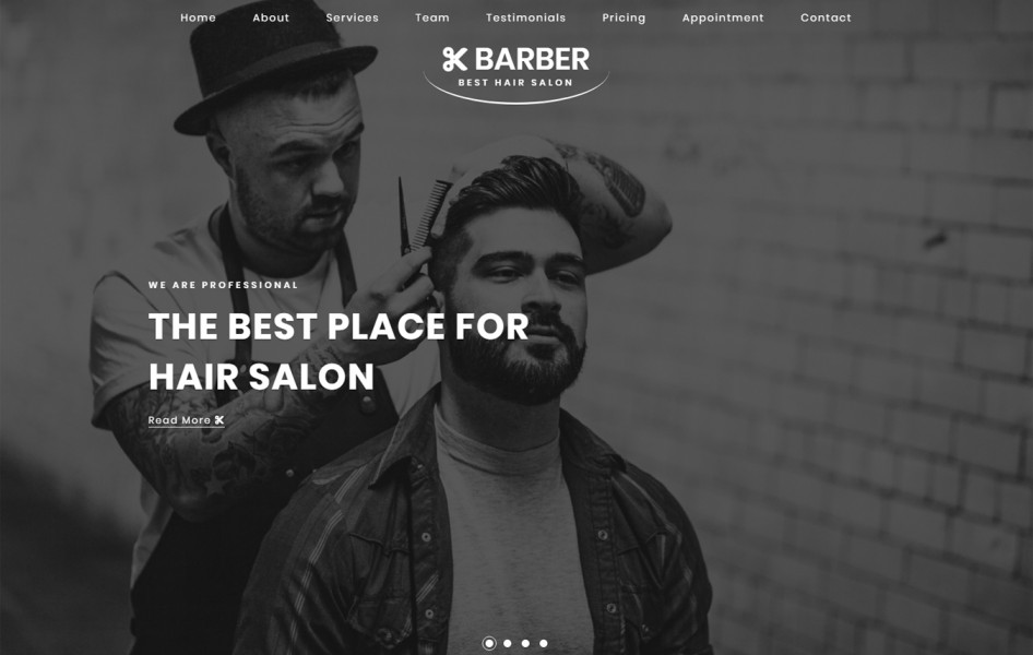 Barber Beauty & Spa Category Bootstrap Responsive Web Template