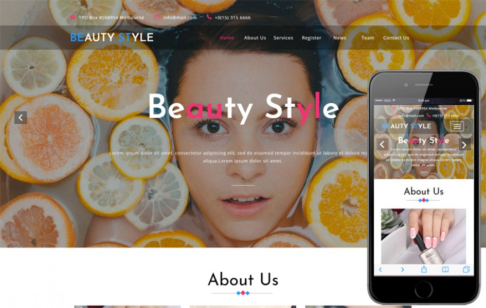 Beauty Style a Beauty Category Bootstrap Responsive Web Template