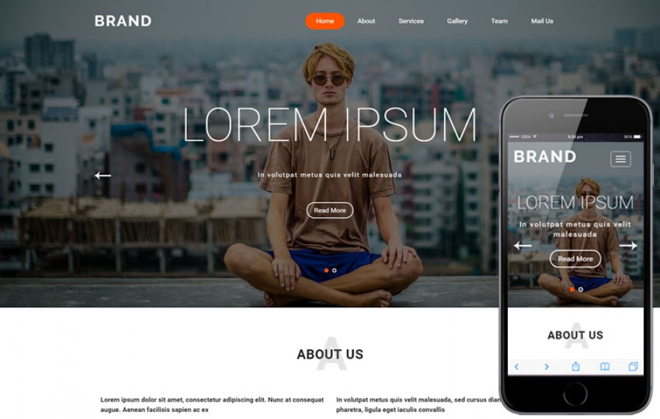 Brand a Fashion Category Flat Bootstrap Responsive Web Template