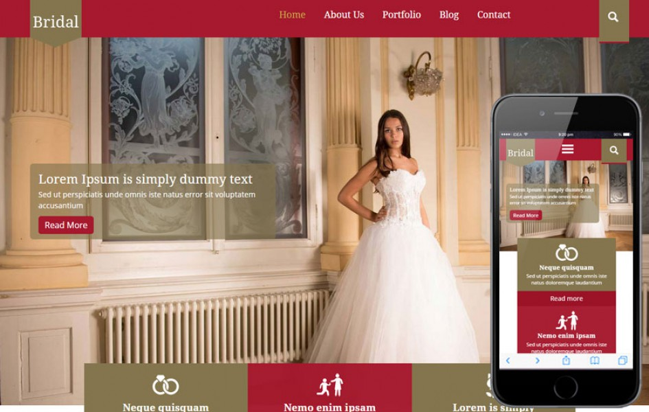 Bridal a Wedding Planner Flat Bootstrap Responsive Web Template