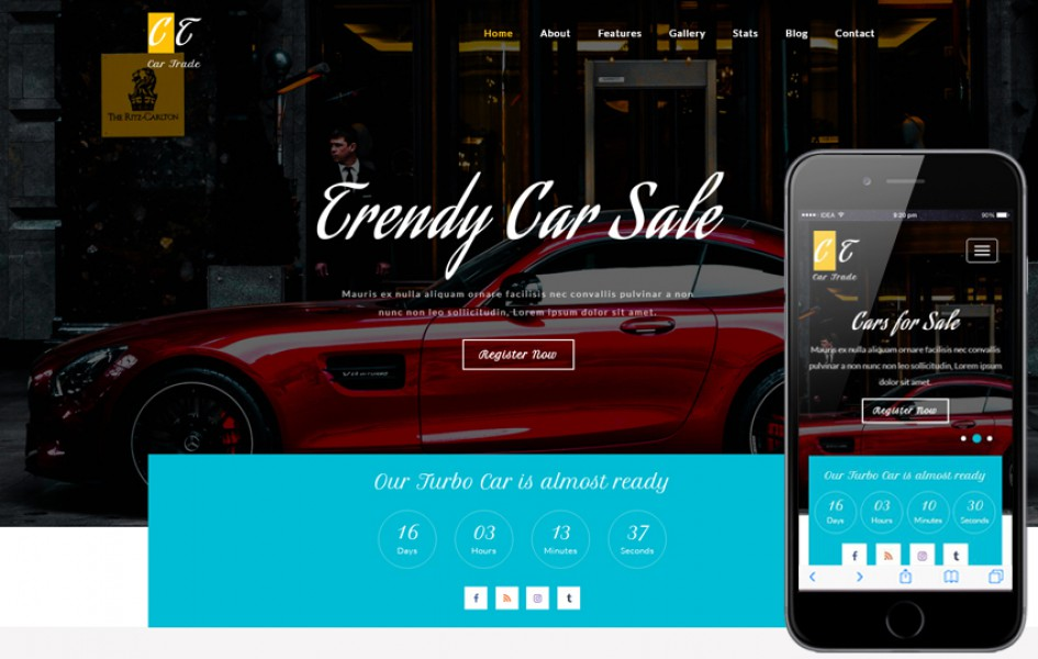 Car Trade an Autos & Transportation Bootstrap Responsive Web Template