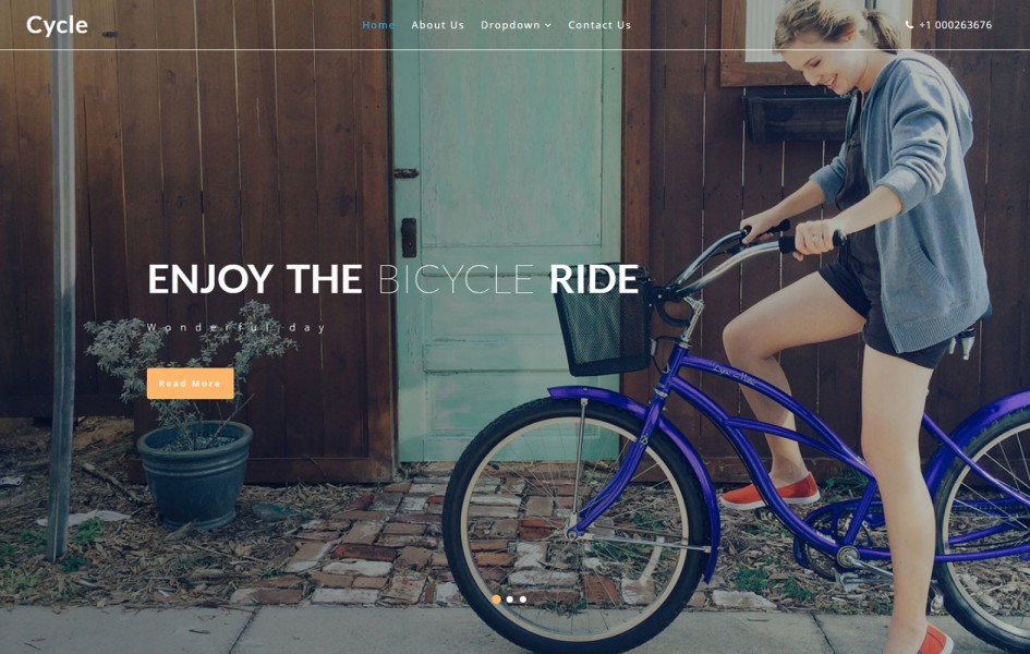 Cycle a Sports Category Flat Bootstrap Responsive Web Template