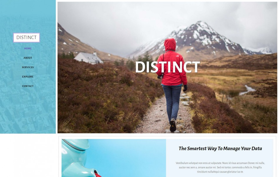 Distinct Multipurpose Category Bootstrap Responsive Web Template