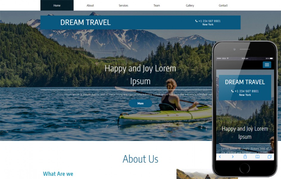 Dream Travel a Travel Category Bootstrap Responsive Web Template