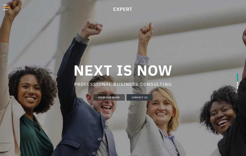 Expert Corporate Category Bootstrap Responsive Web Template