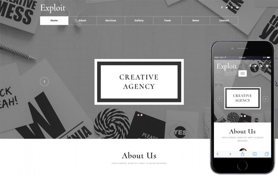 Exploit a Corporate Category Flat Bootstrap Responsive Web Template