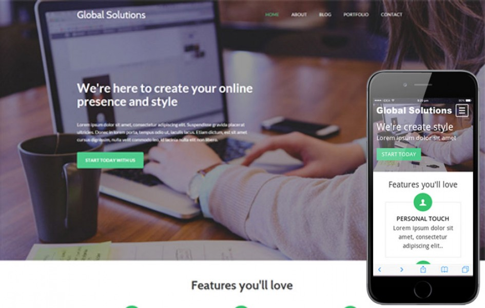 Global Solutions a Corporate Business Flat Bootstrap Responsive Web Template