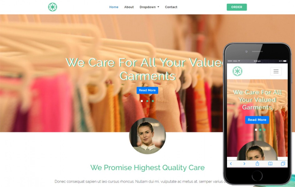 Go Laundry – Laundry Category Bootstrap Responsive Web Template
