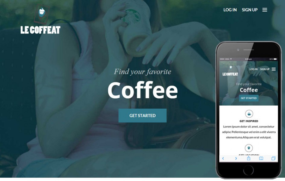 Le Coffeat a Hotel Category Flat Bootstrap Responsive Web Template