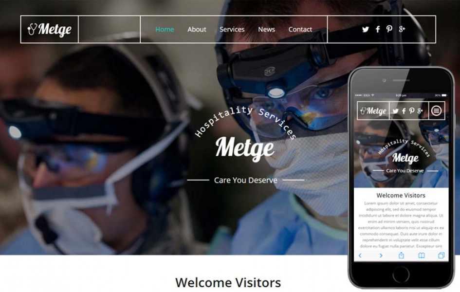 Metge a Medical Category Flat Bootstrap Responsive Web Template