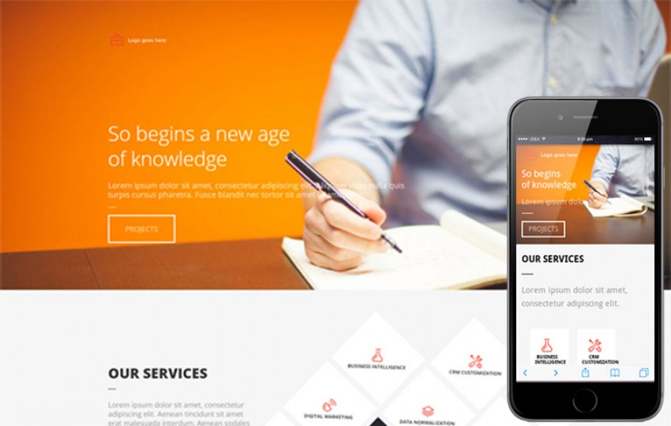 Office a Single Page Multi Purpose Flat Bootstrap Responsive Web Template