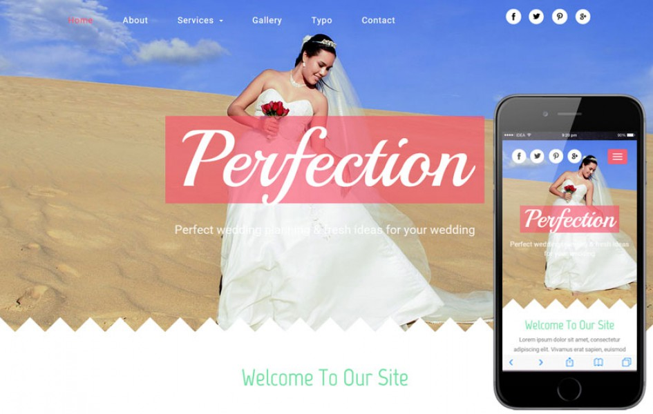 Perfection a Wedding Planner Flat Bootstrap Responsive Web Template
