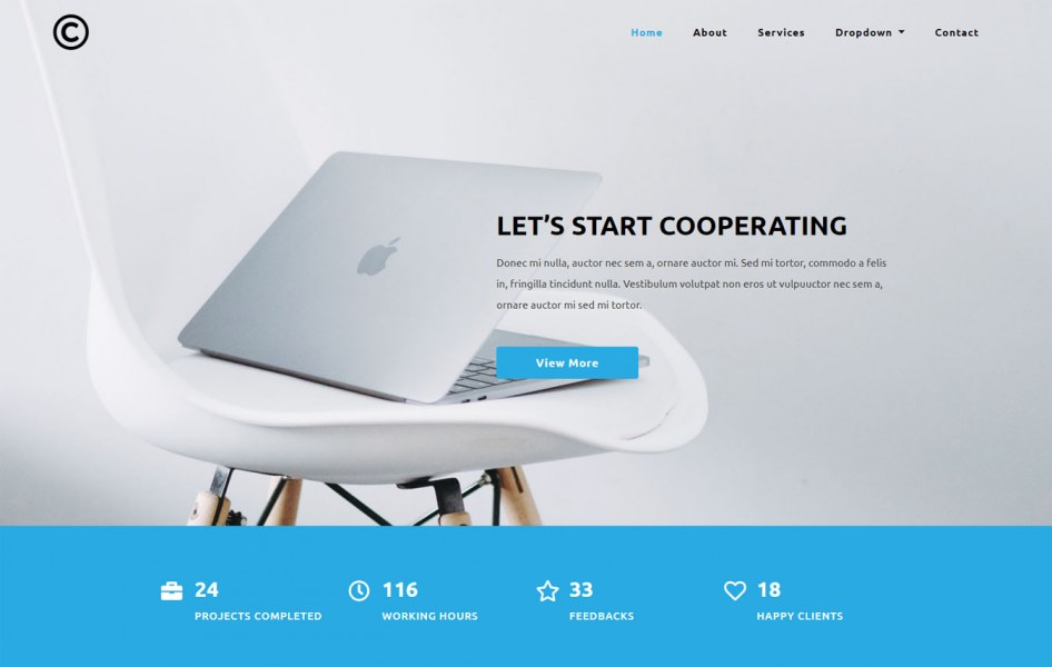 Pervasive Corporate Category Bootstrap Responsive Web Template