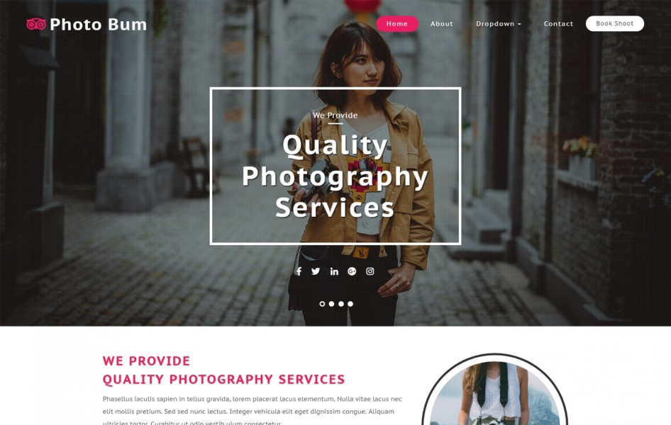 Photo Bum Photo Gallery Category Bootstrap Responsive Web Template