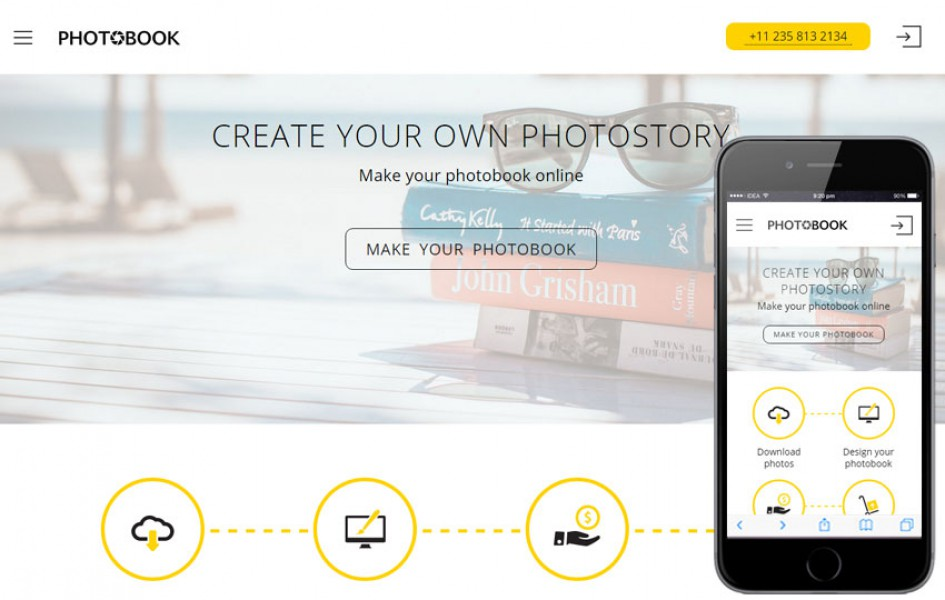 Photobook a Photographer Portfolio Flat Bootstrap Responsive Web Template