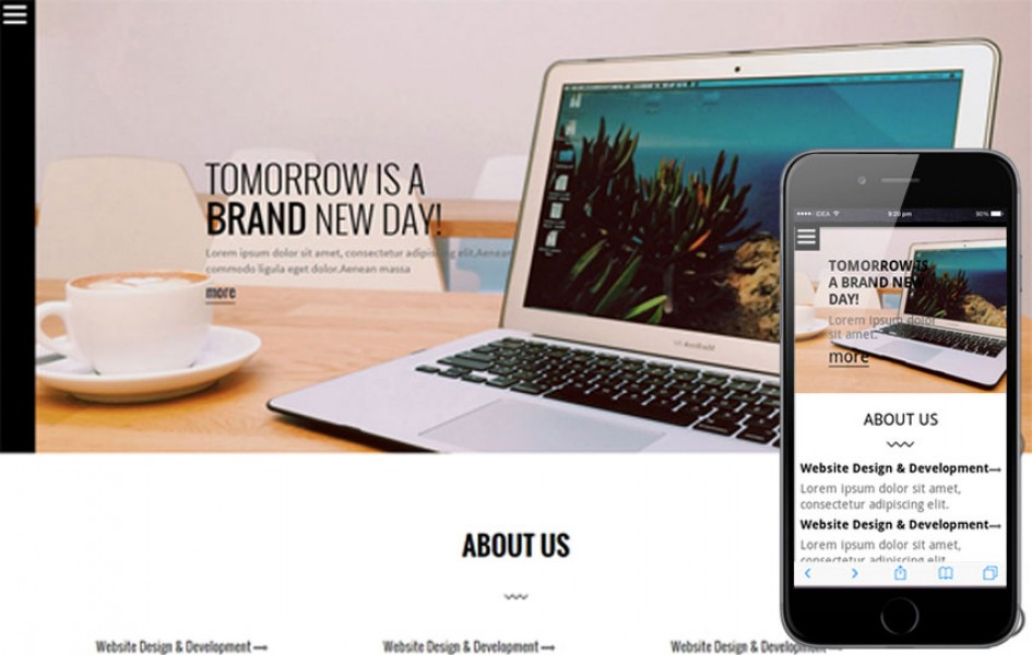 SNDSNG a Single Page Multipurpose Flat Bootstrap Responsive Web Template