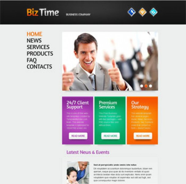 Biz Time Templates