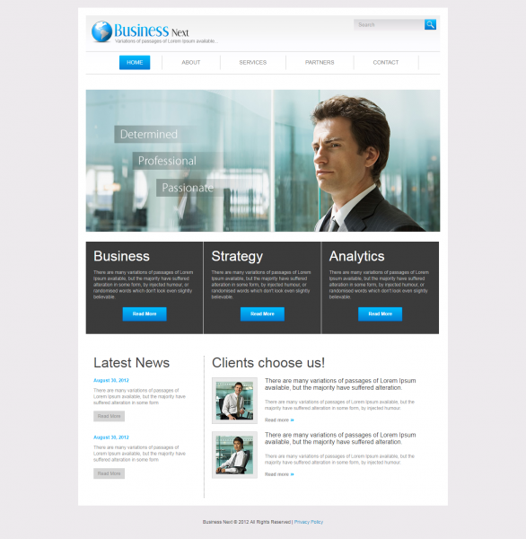 Business Next Templates