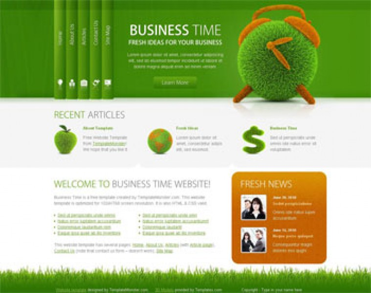 Business Time Templates