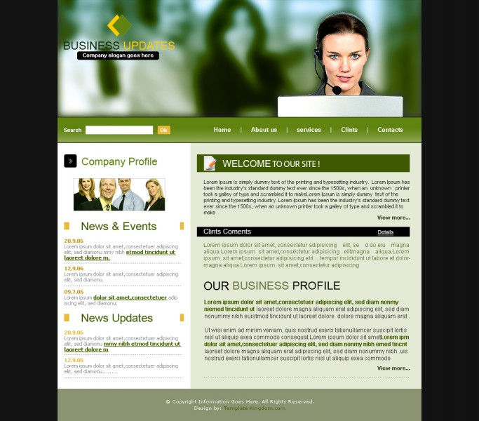 Business Updates Templates