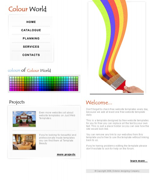 Colour World Templates