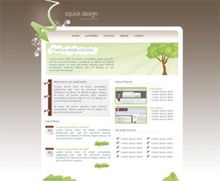 Squick Design Templates