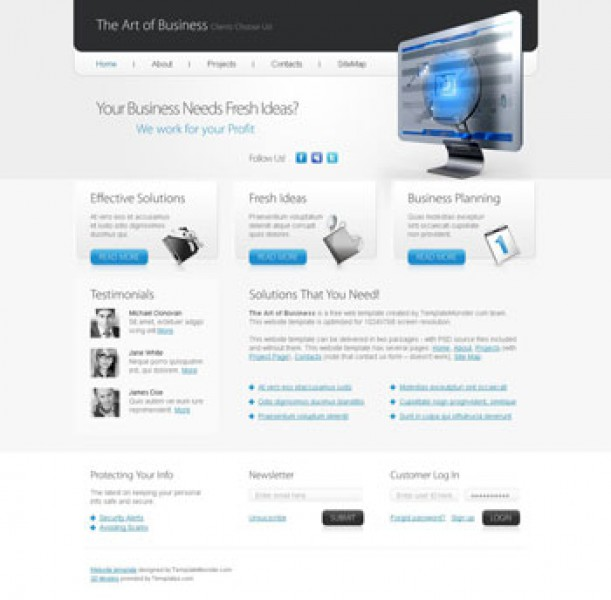 The Art of Business Templates