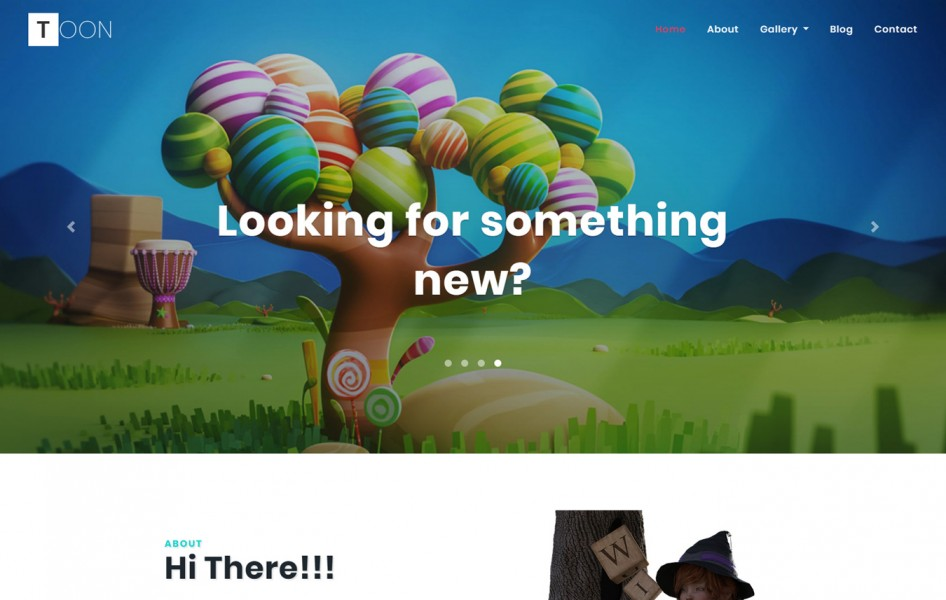 Toon Entertainment Category Bootstrap Responsive Web Template