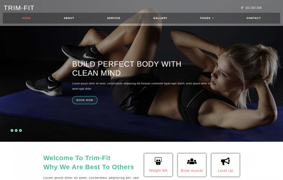 Trim Fit Sports Category Bootstrap Responsive Web Template