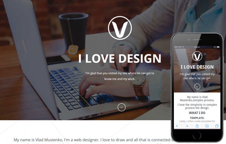 Visual Box a One Page Portfolio Flat Bootstrap Responsive Web Template